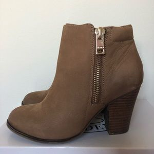 ALDO ankle booties worn once!